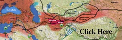 Andite area with Silk Road map